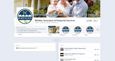 Whitley Financial – Facebook