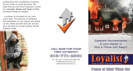 Loyalist – Brochure